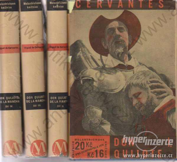 Don Quijote I-IV Cervantes 1931 Melantrich