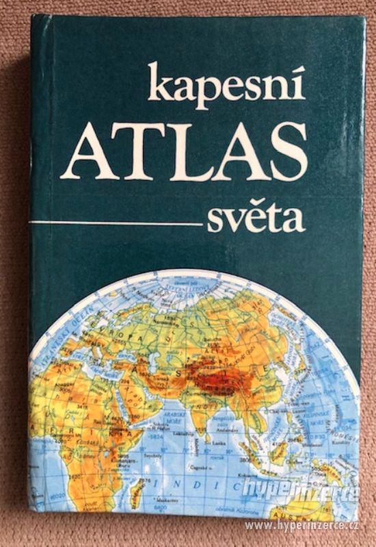Atlasy školní, cestovní, kapesní a filatelistický - foto 1