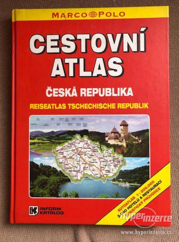 Atlasy školní, cestovní, kapesní a filatelistický - foto 3