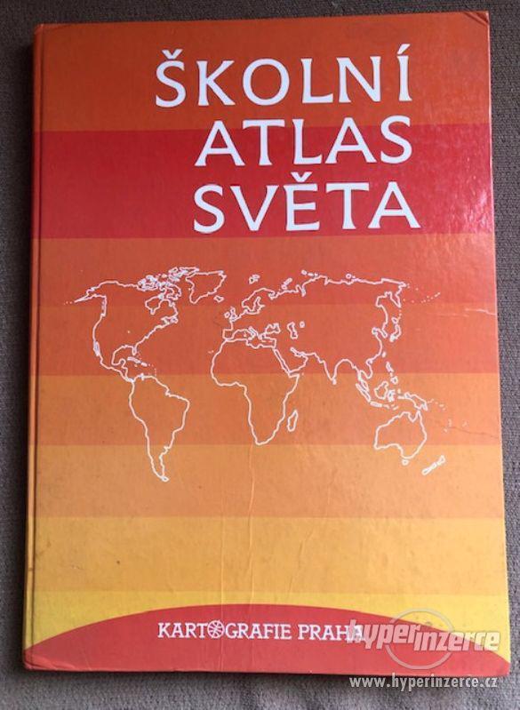 Atlasy školní, cestovní, kapesní a filatelistický - foto 4