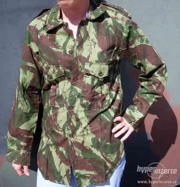 Vojenské maskáčové košile,nové