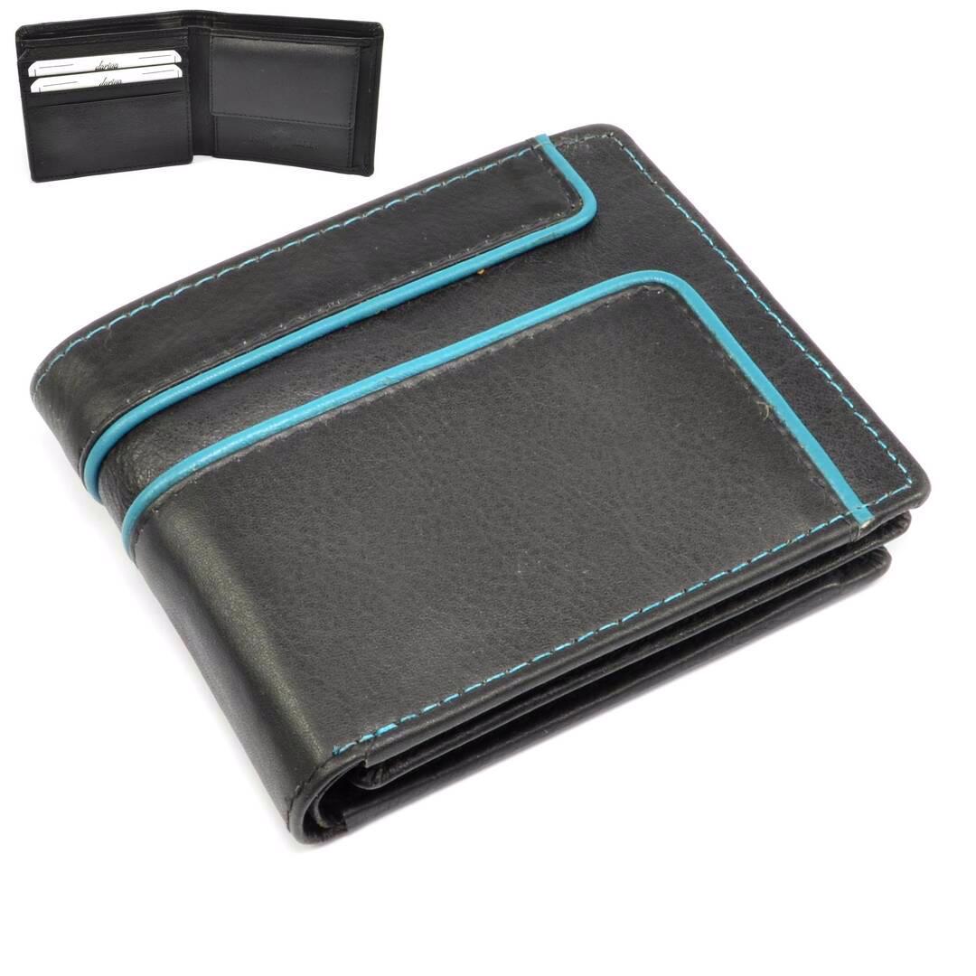 Malá peněženka kožená retro - foto 1