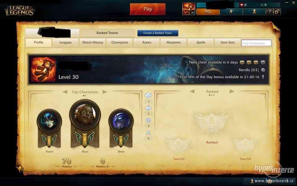 League of legends Unranked EUW