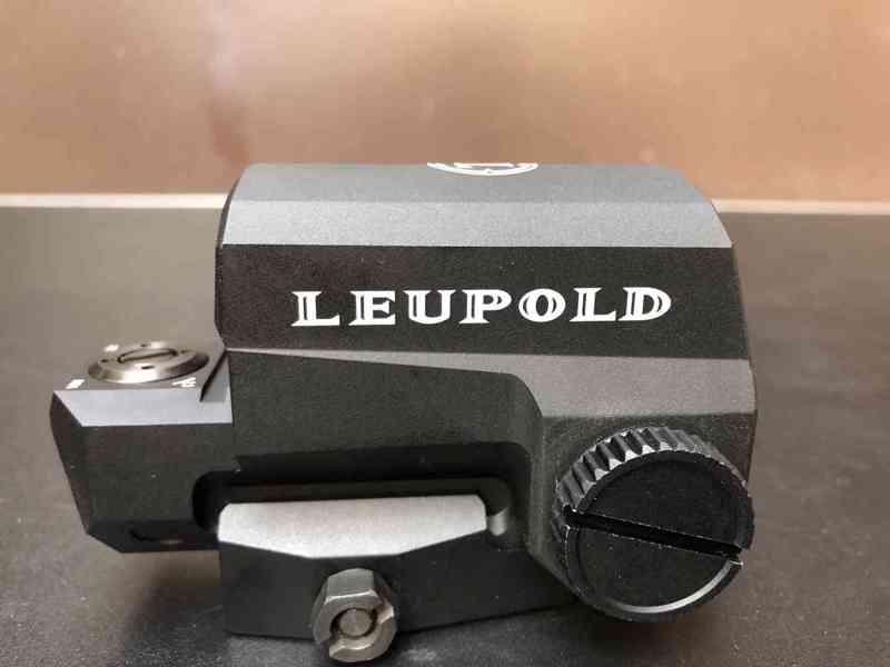 Kvalitní  KOLIMATOR Leupold regulace podsvícení, odolný v ko - foto 4