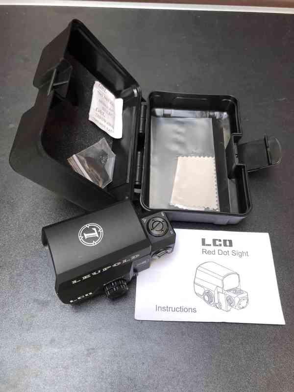 Kvalitní  KOLIMATOR Leupold regulace podsvícení, odolný v ko - foto 2