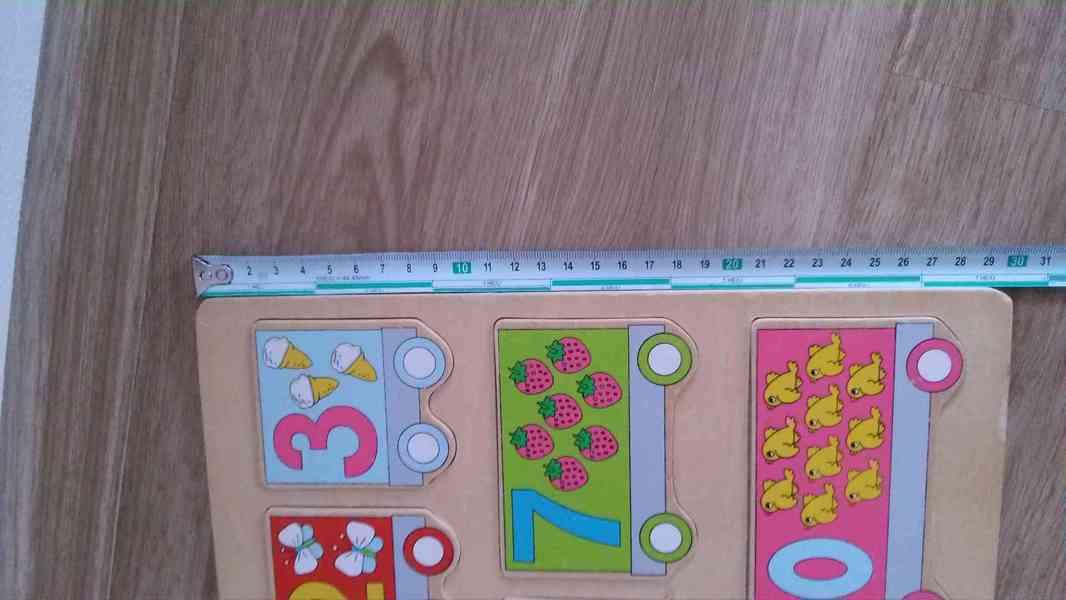 Dětské skládačky a domino velké