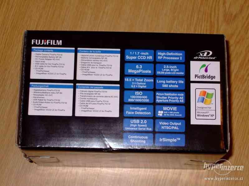 Prodám fotoaparát FinePix F31fd - foto 3