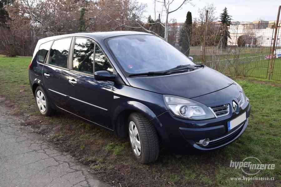 Renault Grand Scénic II, 1.9 dCi, 96 kW, 7 míst, navi