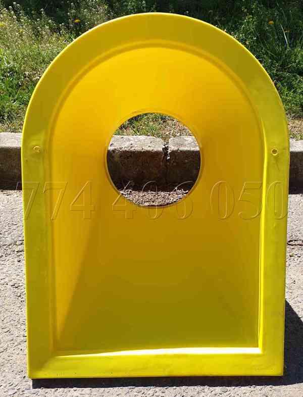 Prodám stavební shozy kompletní systém -držák, násypka, shoz - foto 7