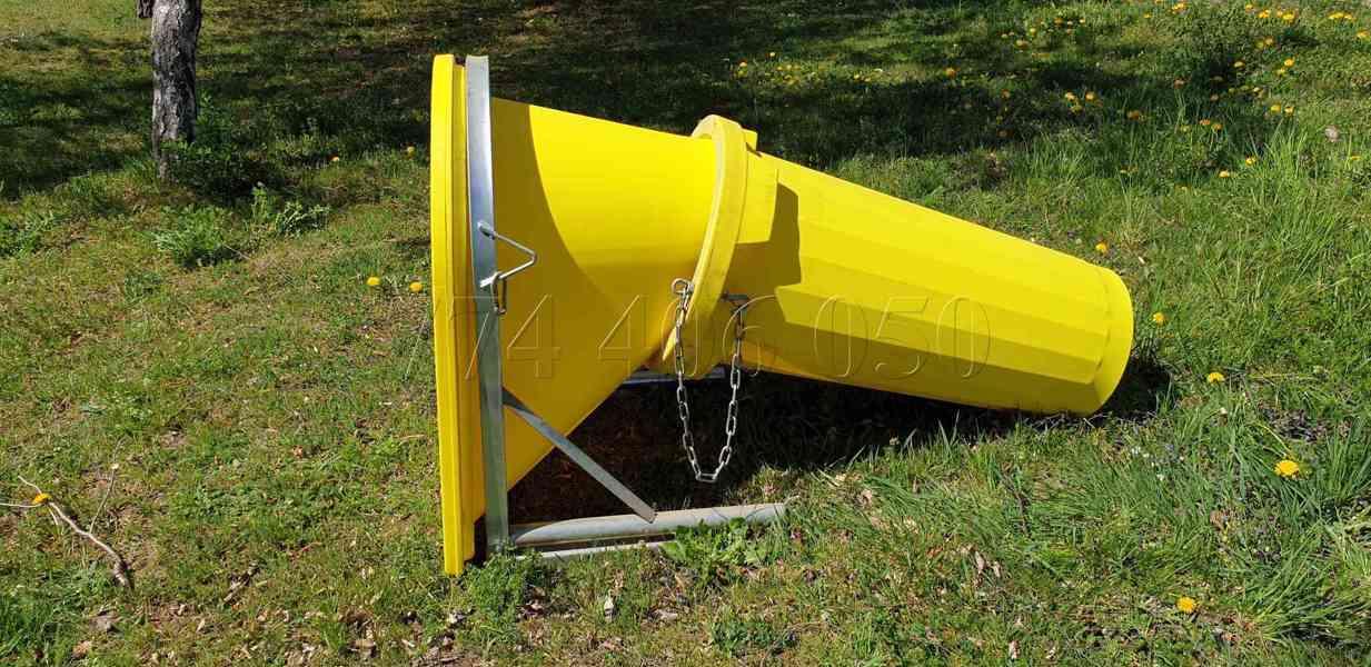 Prodám stavební shozy kompletní systém -držák, násypka, shoz - foto 6