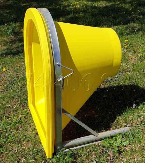 Prodám stavební shozy kompletní systém -držák, násypka, shoz - foto 5