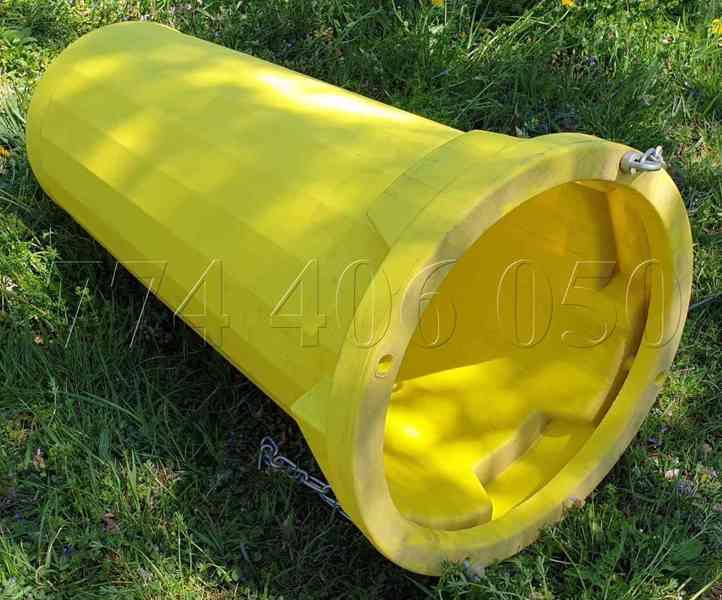 Prodám stavební shozy kompletní systém -držák, násypka, shoz - foto 8