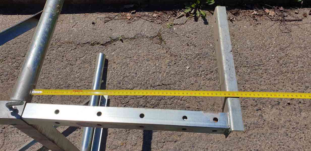 Prodám stavební shozy kompletní systém -držák, násypka, shoz - foto 4