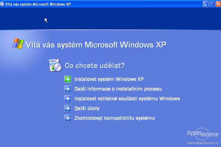 Windows XP systém do starších PC... instalace.... - foto 2