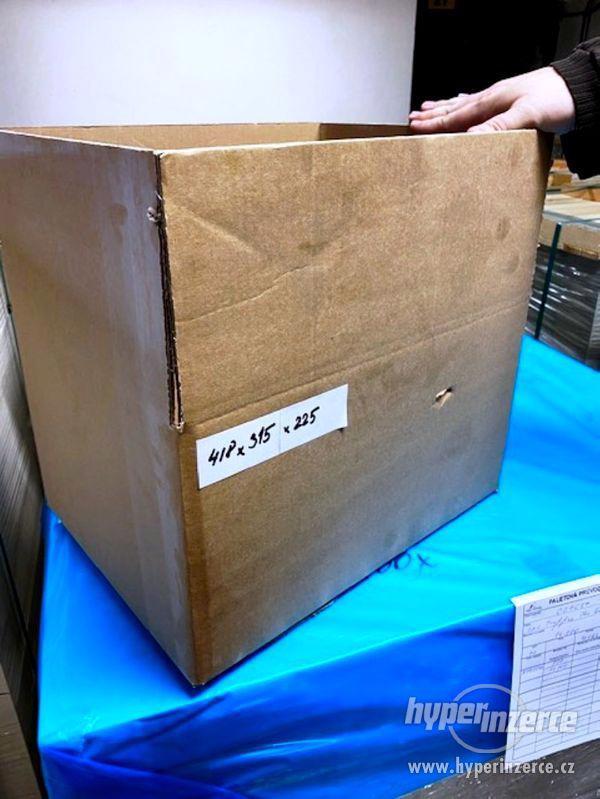 Prodám nové papírové krabice - 4 druhy - foto 1