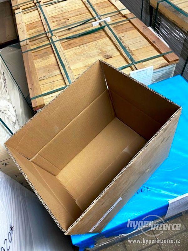 Prodám nové papírové krabice - 4 druhy - foto 4