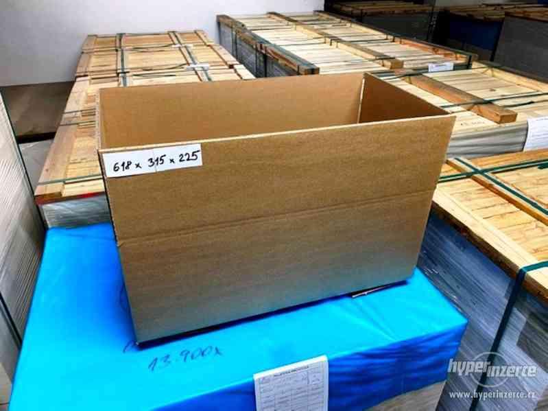 Prodám nové papírové krabice - 4 druhy - foto 3