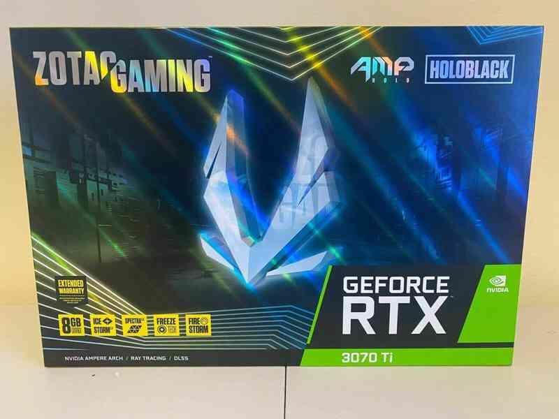 ZOTAC GAMING GeForce 3070 RTX Ti AMP Holo 8GB GDDR6X Grafick