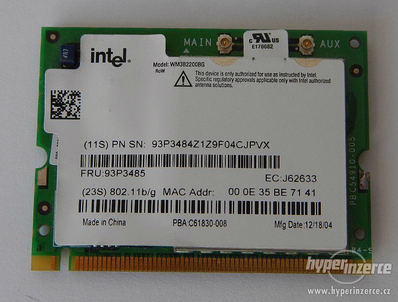 IBM Lenovo Thinkpad WiFi 802.11 G/B Card - foto 1