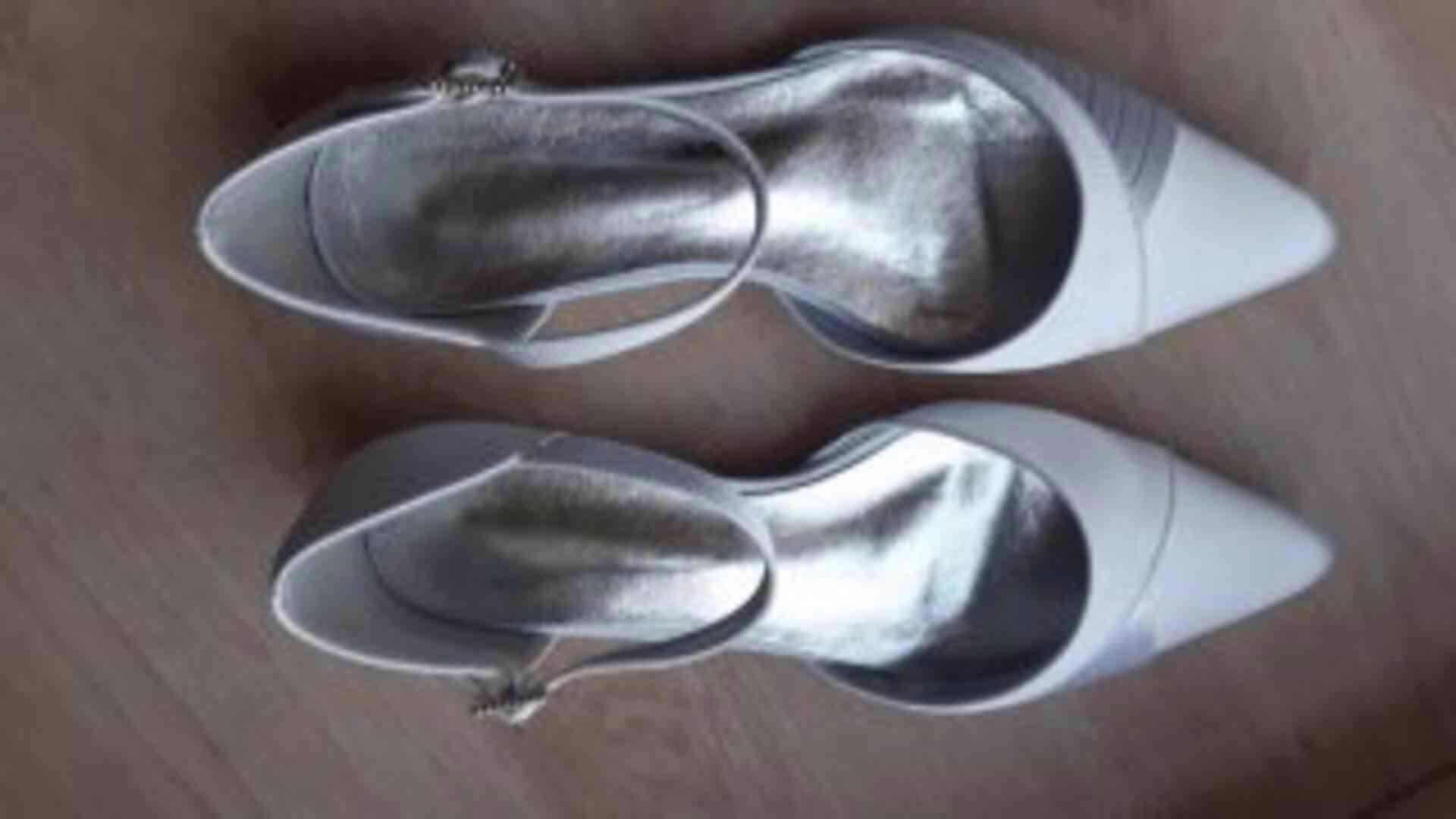 Dámské sandály - bílé - foto 1