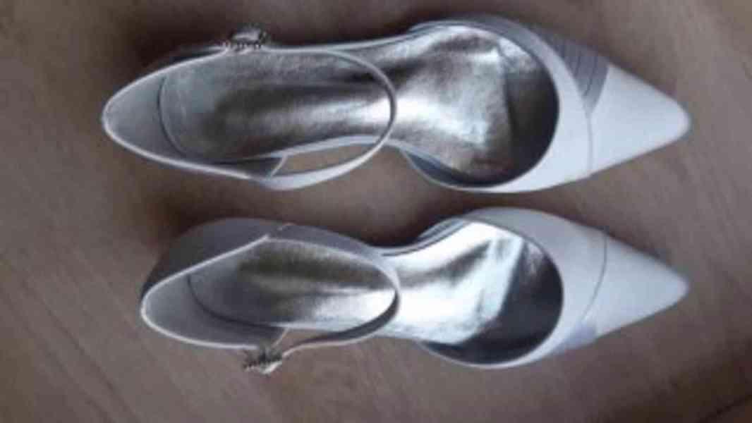 Dámské sandály - bílé