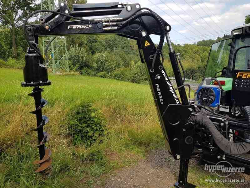 Podkop FEMAC 6.28 pro traktory 75-110 HP - foto 2