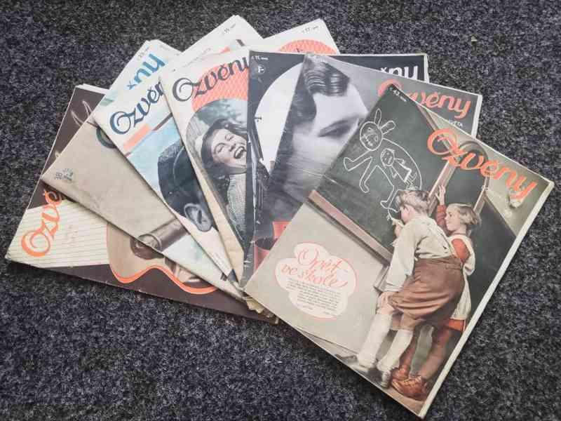 Časopis Ozvěny domova i světa 1939-1940