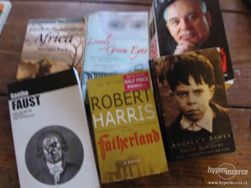 Knihy v angličtině