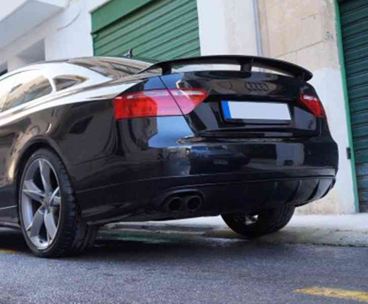 spoiler kridlo audi a5 8T lista tuning s5 s-line coupe