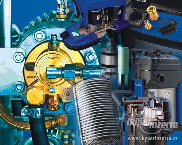 Náhradní díly pro opravy strojů WAP a Nilfisk Alto