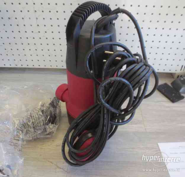 Čerpadlo ponorné kalové čerpadlo 550 W nerezové - foto 1