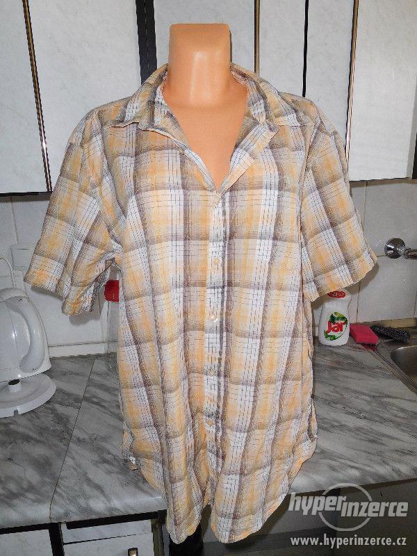 bavlněná košile s krátkým rukávem