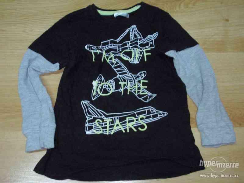 Dětské tričko s dlouhým rukávem, různa barva ( 122)