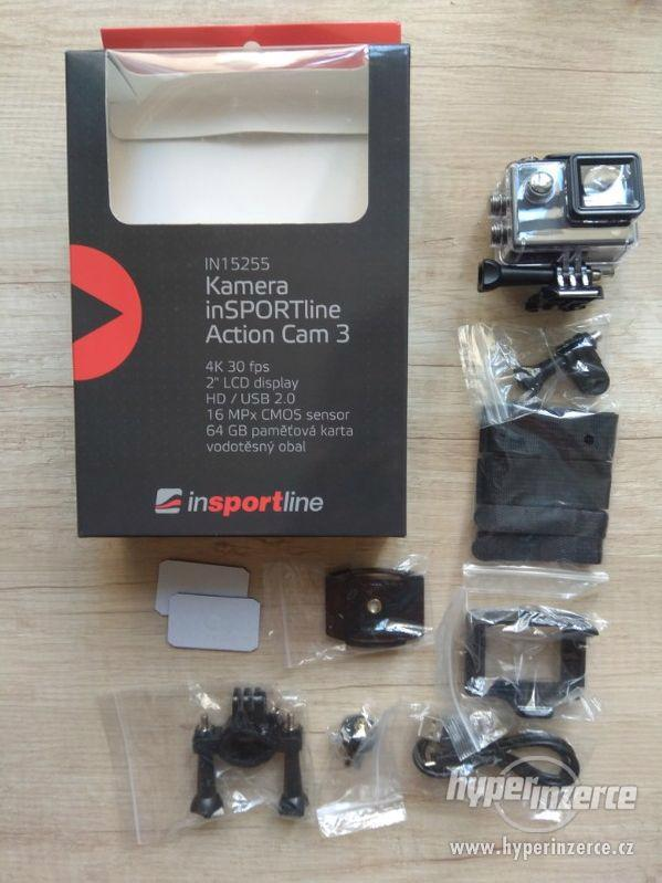 Akční kamera Insportline Action Cam 3