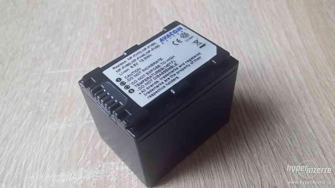 Prodám náhradní baterii pro kamery Sony HandyCam HDR-***