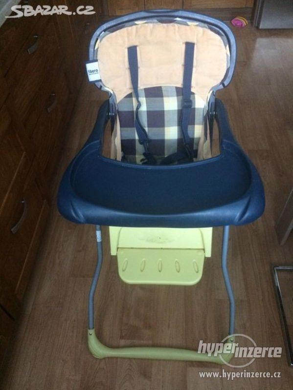 Dětská jídelní stolička fibero