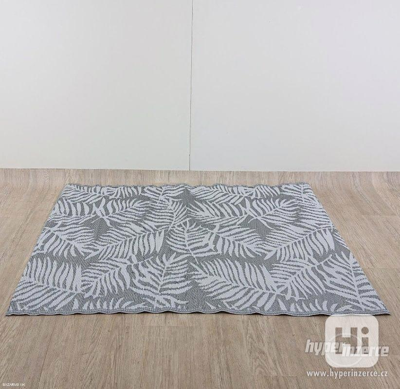 Tmavě šedý venkovní koberec Monobeli Casma - foto 1