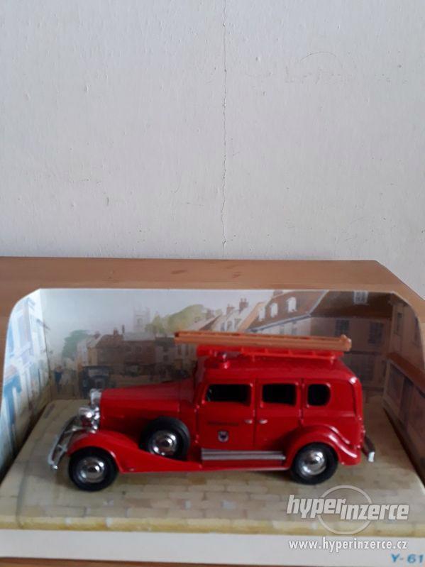 prodám matchbox hasičáky