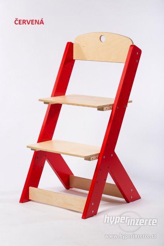 Rostoucí židle OMEGA III - různá barevná kombinace - foto 1