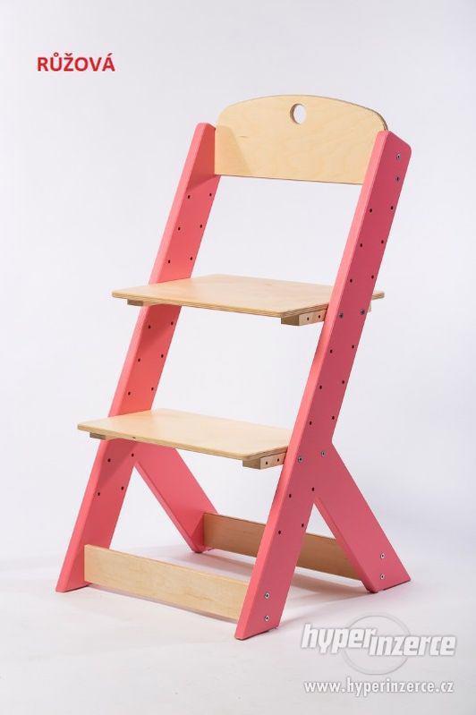 Rostoucí židle OMEGA III - různá barevná kombinace - foto 2