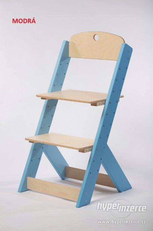 Rostoucí židle OMEGA III - různá barevná kombinace - foto 3