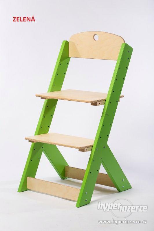 Rostoucí židle OMEGA III - různá barevná kombinace - foto 4