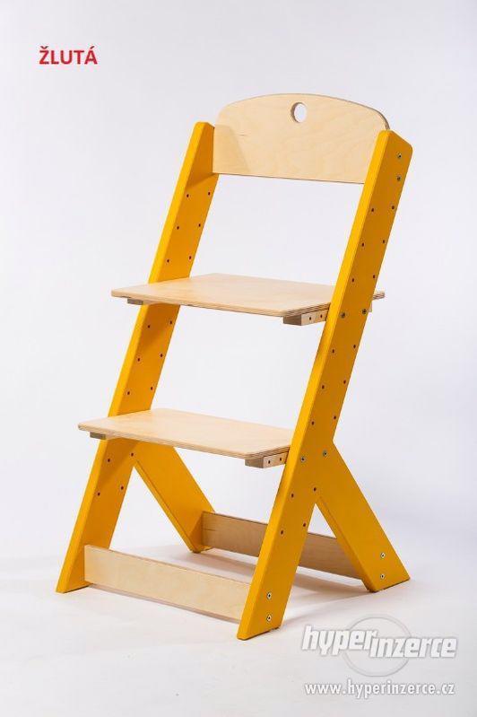 Rostoucí židle OMEGA III - různá barevná kombinace - foto 5