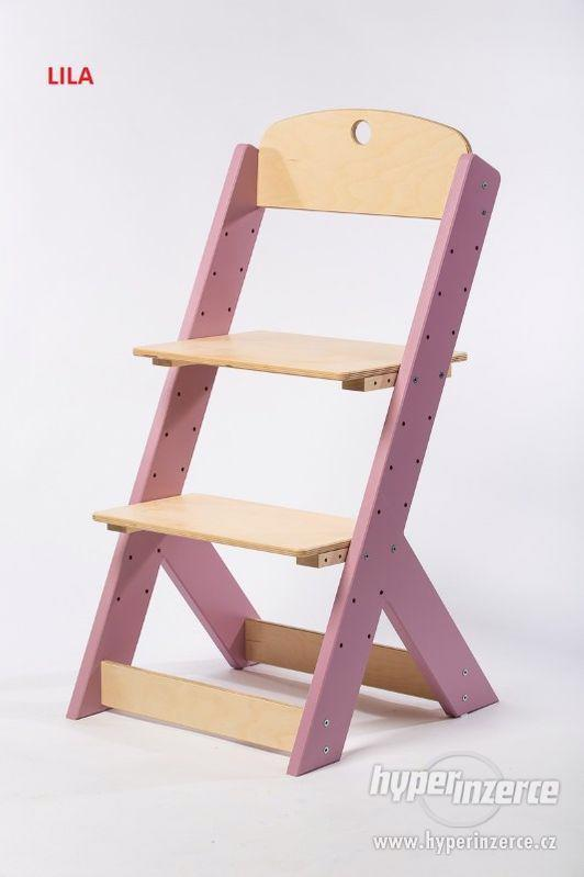 Rostoucí židle OMEGA III - různá barevná kombinace - foto 7