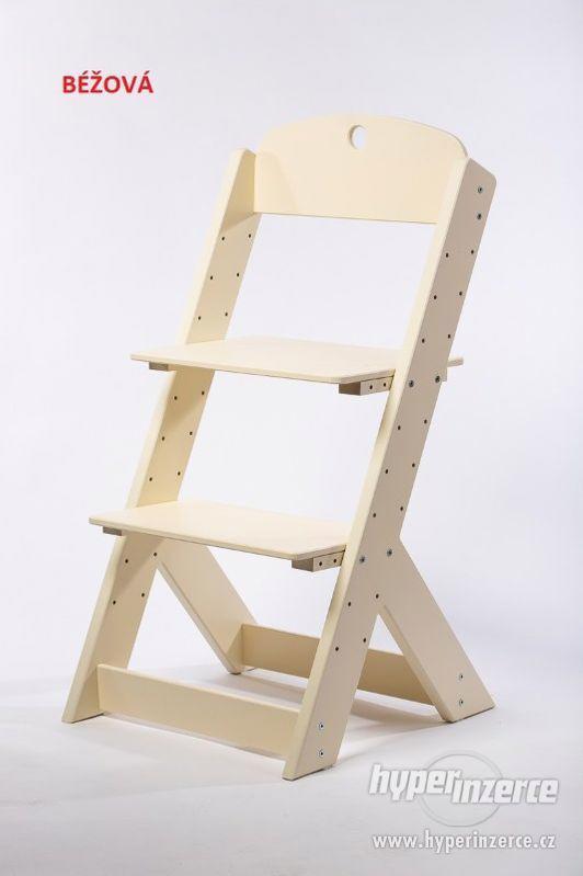 Rostoucí židle OMEGA III - různá barevná kombinace - foto 8