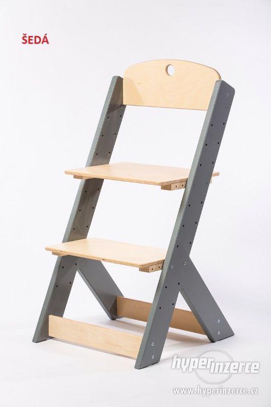 Rostoucí židle OMEGA III - různá barevná kombinace - foto 10