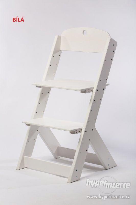 Rostoucí židle OMEGA III - různá barevná kombinace - foto 11