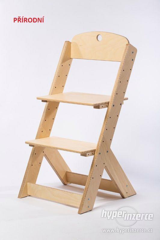 Rostoucí židle OMEGA III - různá barevná kombinace - foto 12