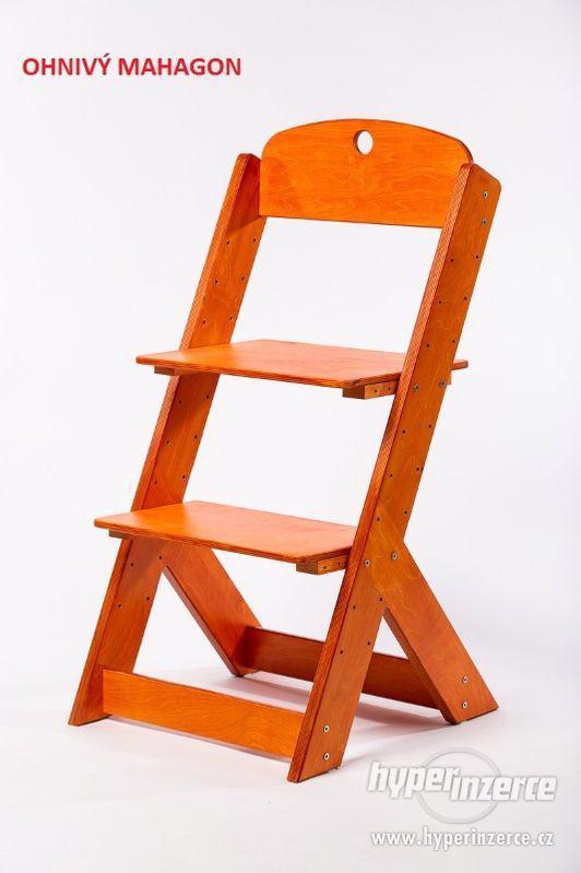 Rostoucí židle OMEGA III - různá barevná kombinace - foto 13