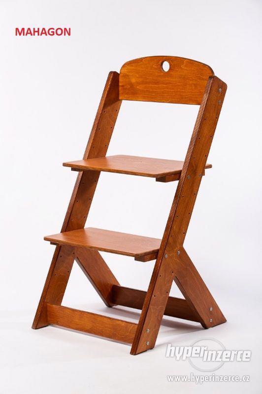 Rostoucí židle OMEGA III - různá barevná kombinace - foto 15